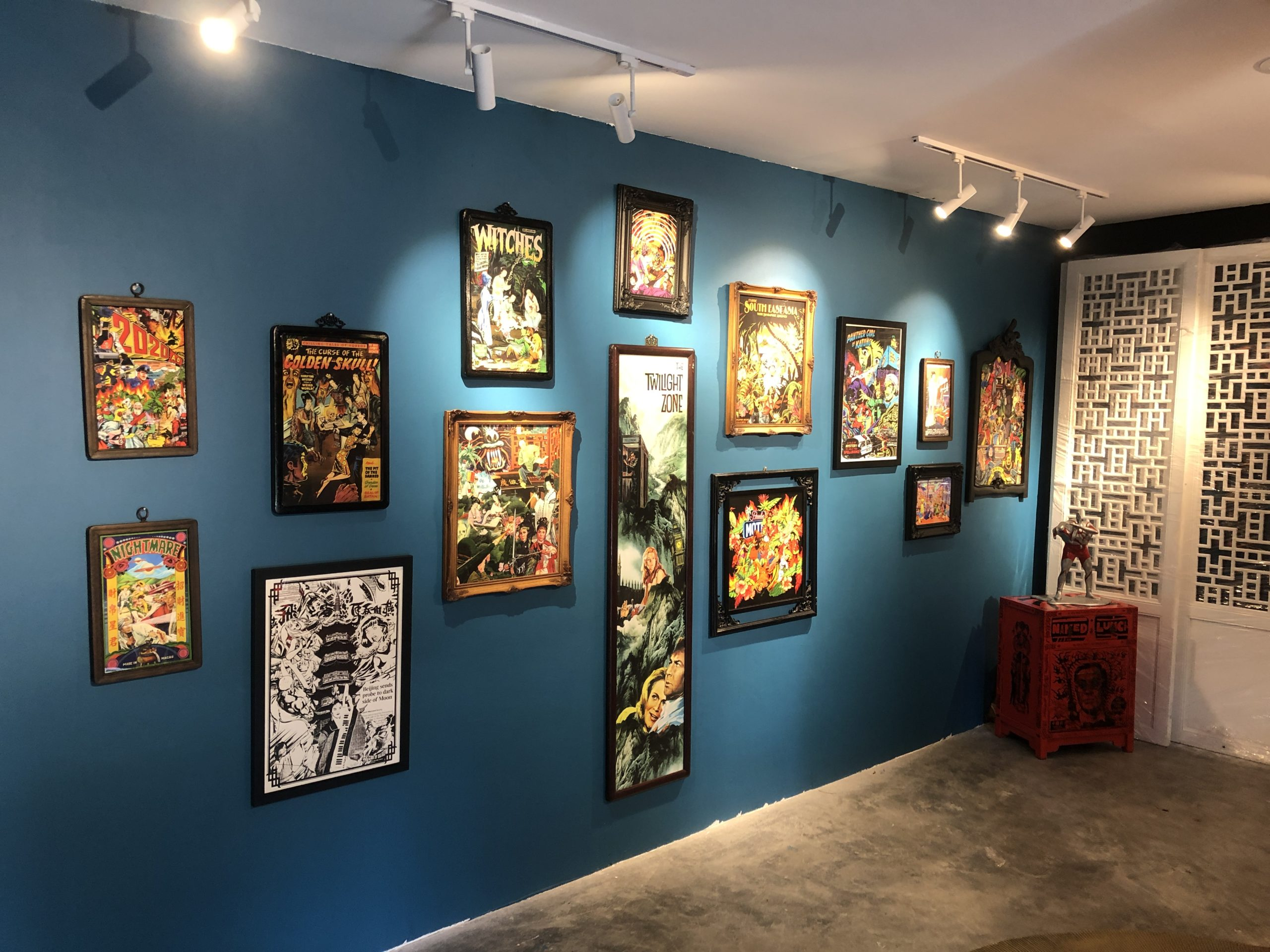 Mojoko's The Secret Room exhibition runs until the end of September. (Photo credit: Siri House)