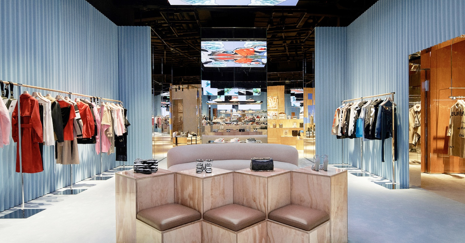 """Burberry's new """"social retail"""" store in Shenzhen turns shopping into a game"""