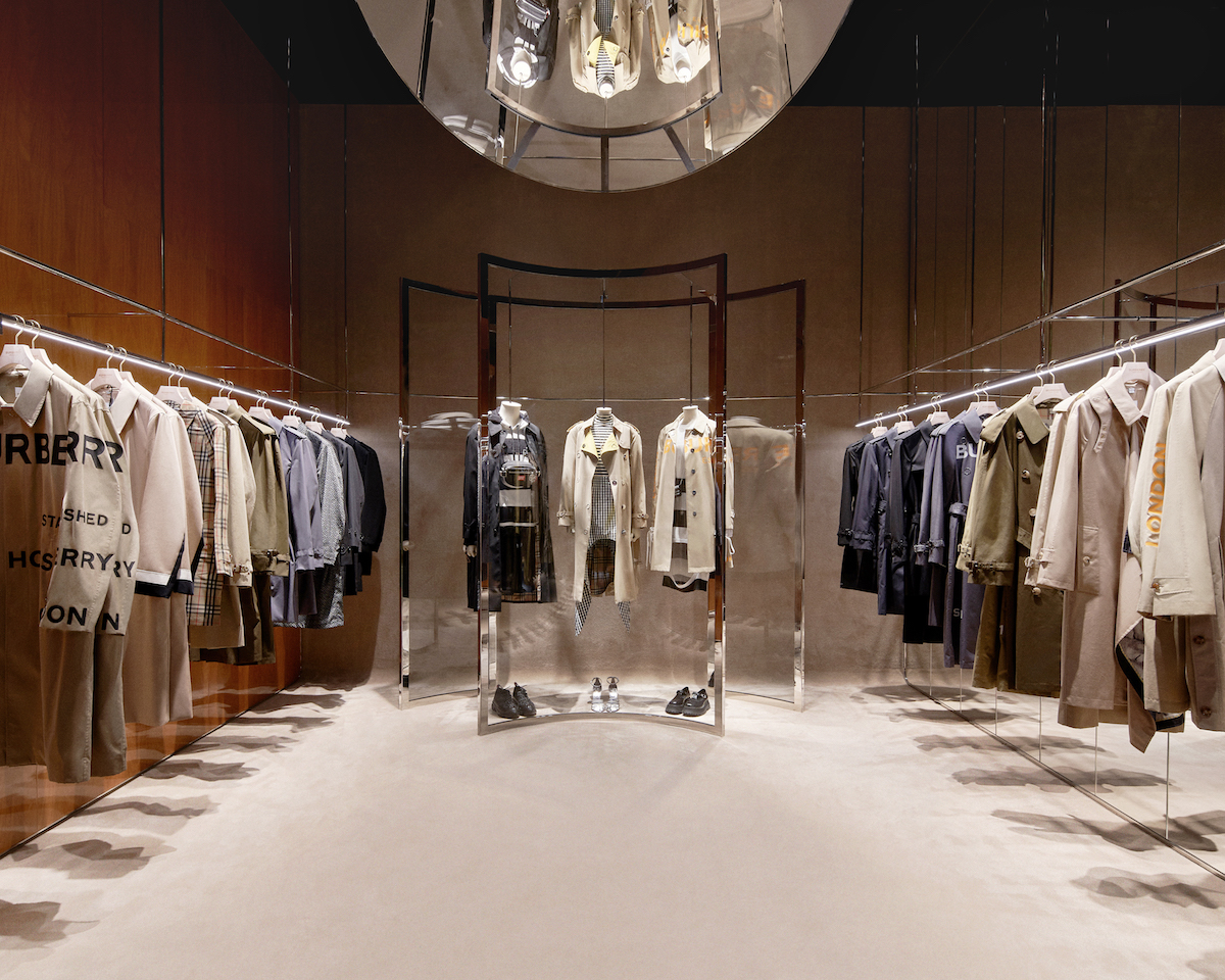 """""""The Trench Experience"""" is a hidden room in the store the can be unlocked as a reward on Burberry's WeChat program. (Photo credit: Burberry)"""