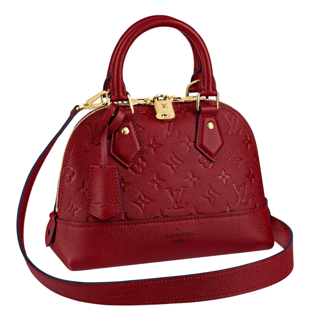 Neo Alma BB in Cherry Berry (Photo credit: Louis Vuitton)