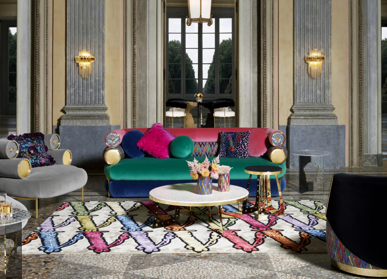 Versace captures the essence of luxury living with this year's Home Collection