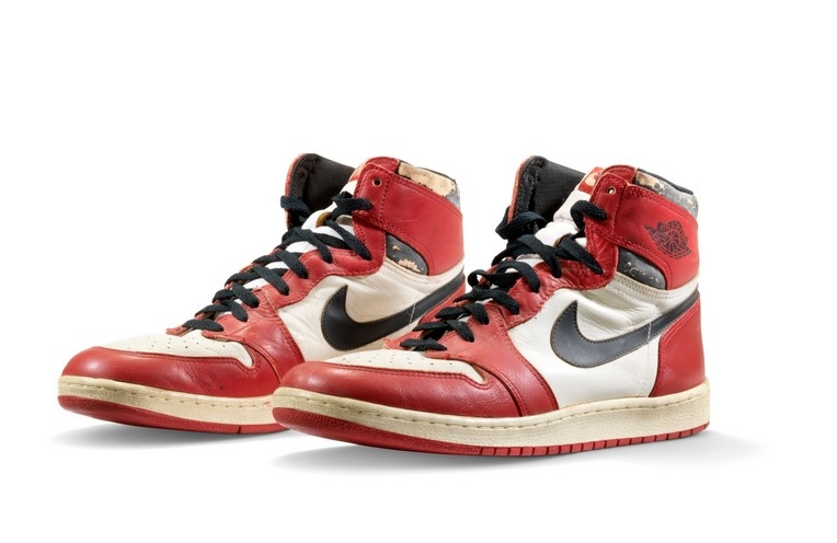 Michael Jordan's Air Jordan 1 Highs smashes records and auctions off at S$842,300