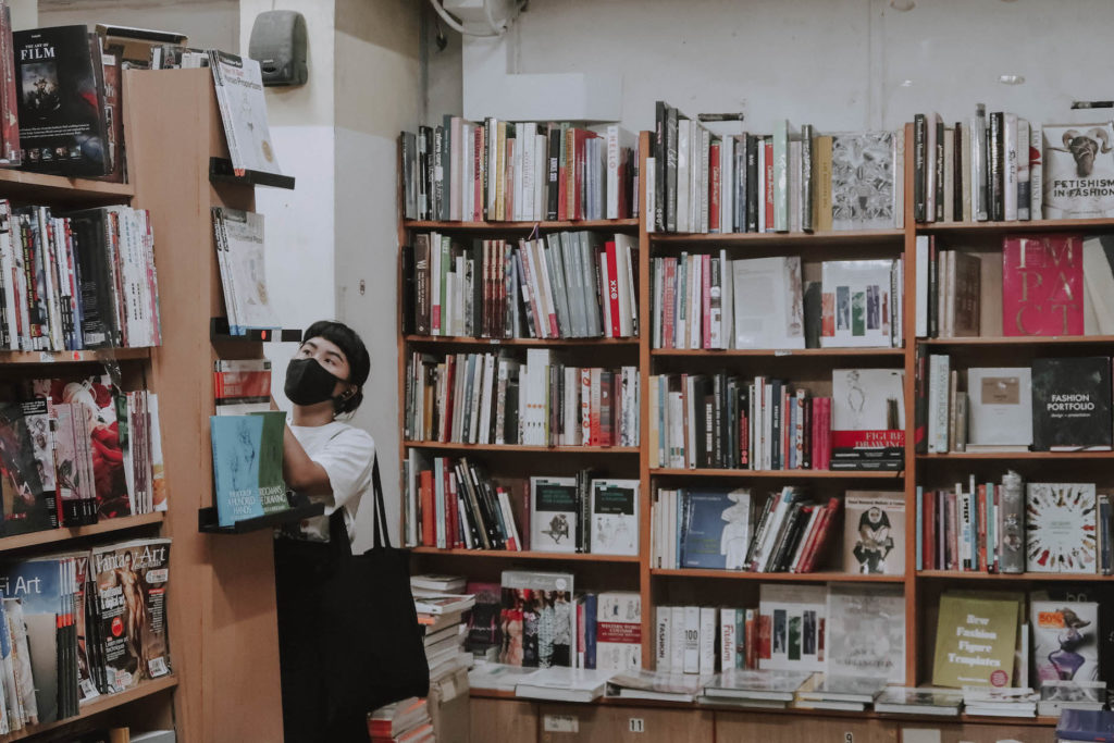 Inside Basheer Graphic Books. (Photo credit: Ooi Qiu Min for Lifestyle Asia Singapore)