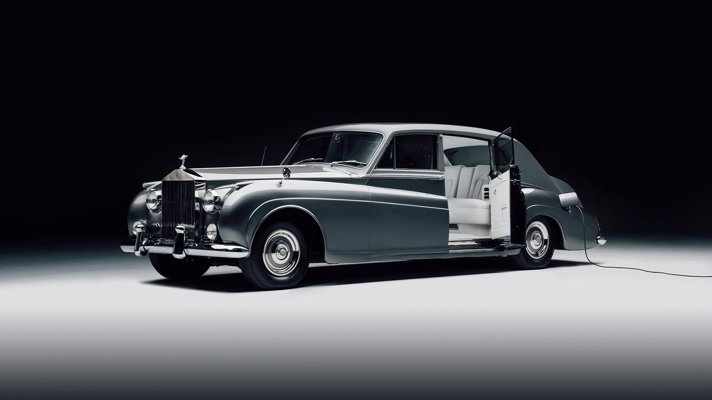 The world's first electric Rolls-Royce car is nothing like what you'd expect