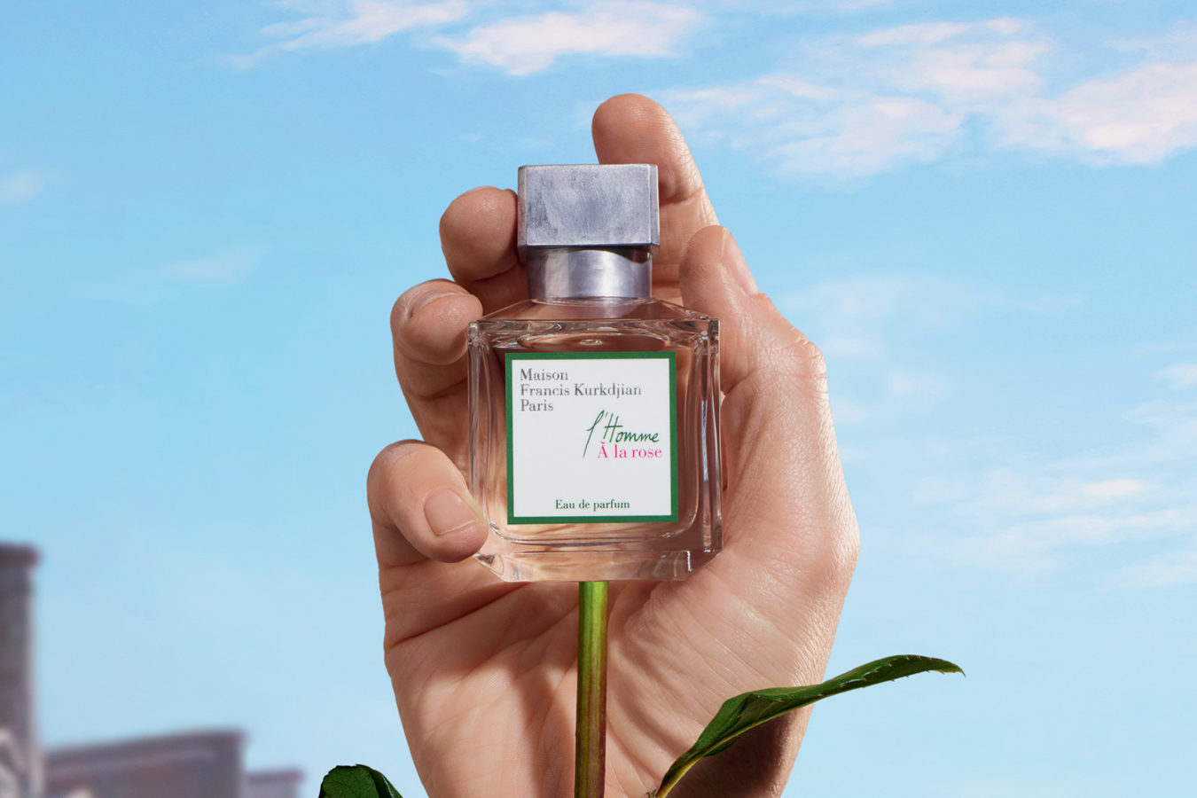 Rose perfumes are seeing a renaissance — for men this time