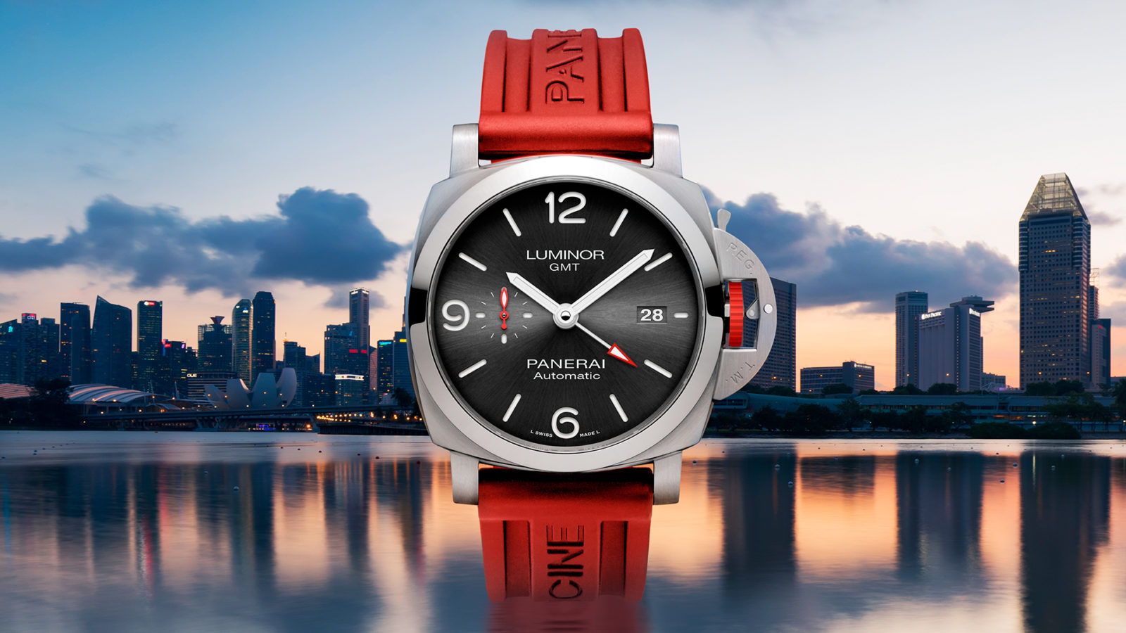 Panerai celebrates its ION Orchard flagship reopening with limited edition Luminor GMT