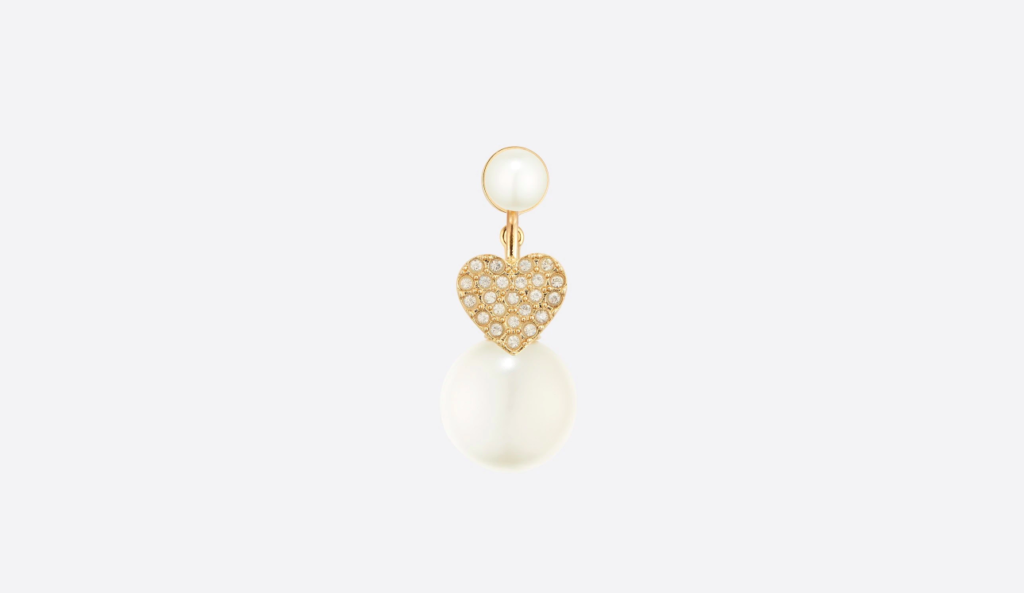 My ABCDior Tribales Heart earring (Photo credit: Dior)