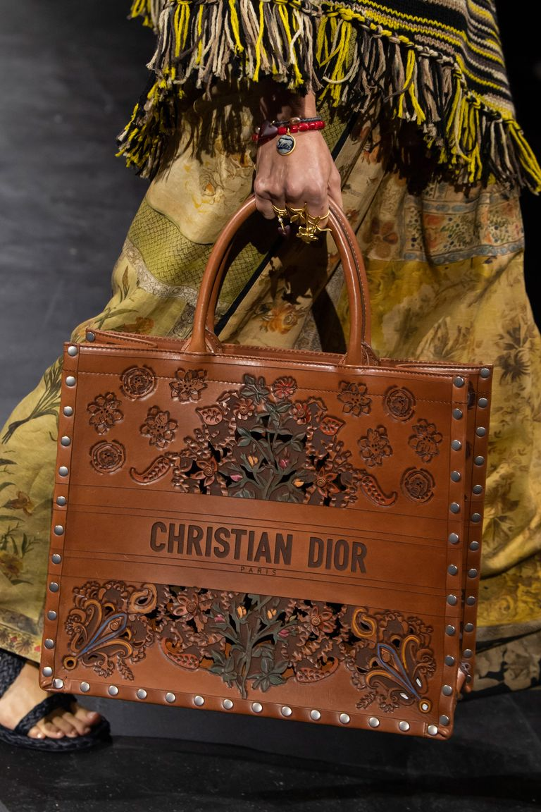 Dior Book Tote in leather (Photo credit: IMAXTREE)
