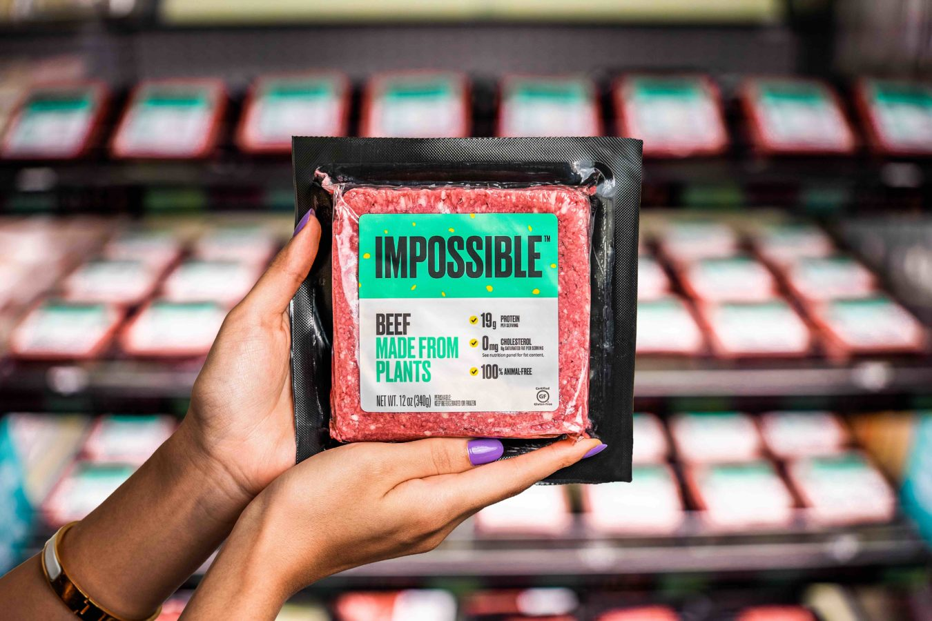 Impossible Foods is now available at a grocery store near you