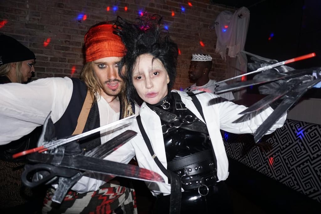 Lady Gaga as Edward Scissorhands (Photo credit: Lady Gaga / Instagram)