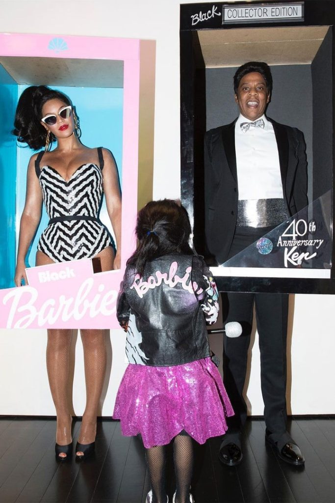 Beyoncé and Jay-Z as Barbie and Ken (Photo credit: Beyoncé / Instagram)