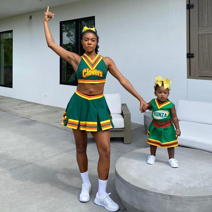 Gabrielle Union as her character from Bring It On (Photo credit: Gabrielle Union / Instagram)