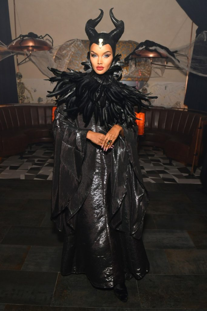 Halima Aden as Maleficent (Photo credit: Getty Images)