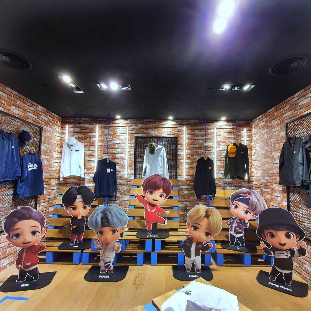 bts pop-up store