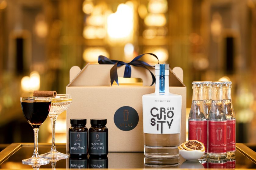 Atlas' curated gin sets