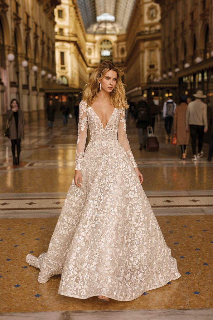 Berta gown, available at Belle & Tulle Bridal (Photo credit: Belle & Tulle Bridal)