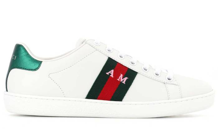 Gucci's customisable sneakers