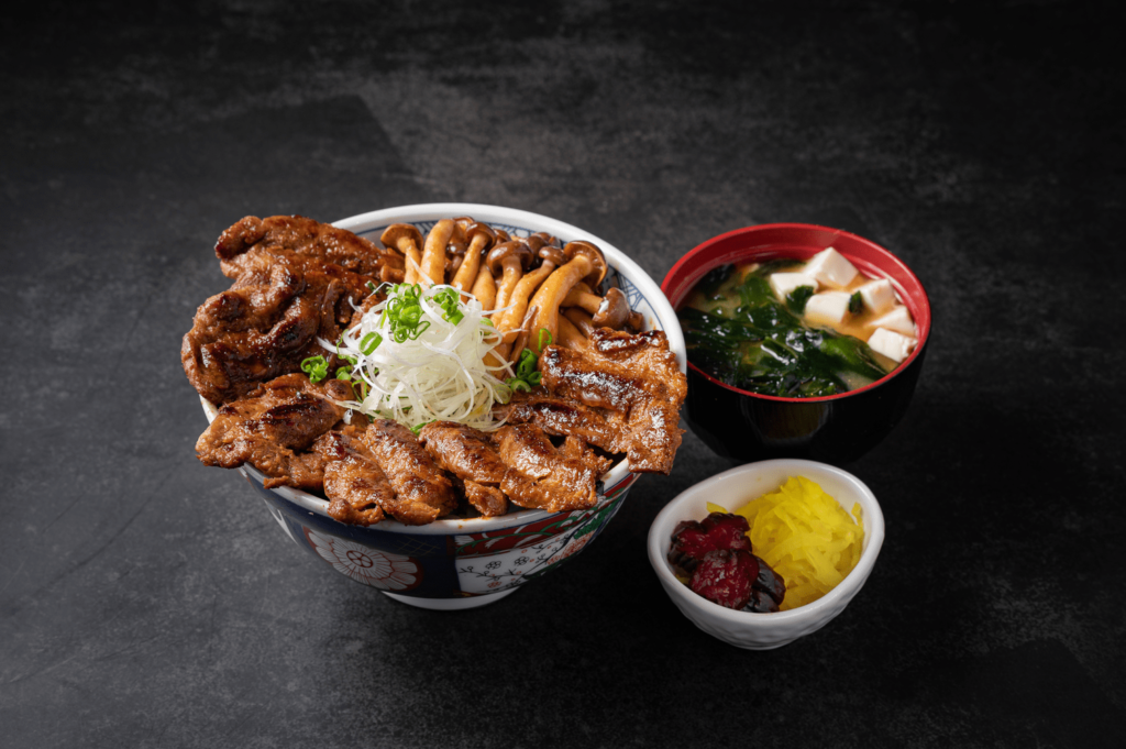 plant-based yakiniku meat