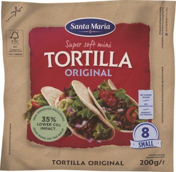 Santa Maria Tex Mex Tortilla Original Small