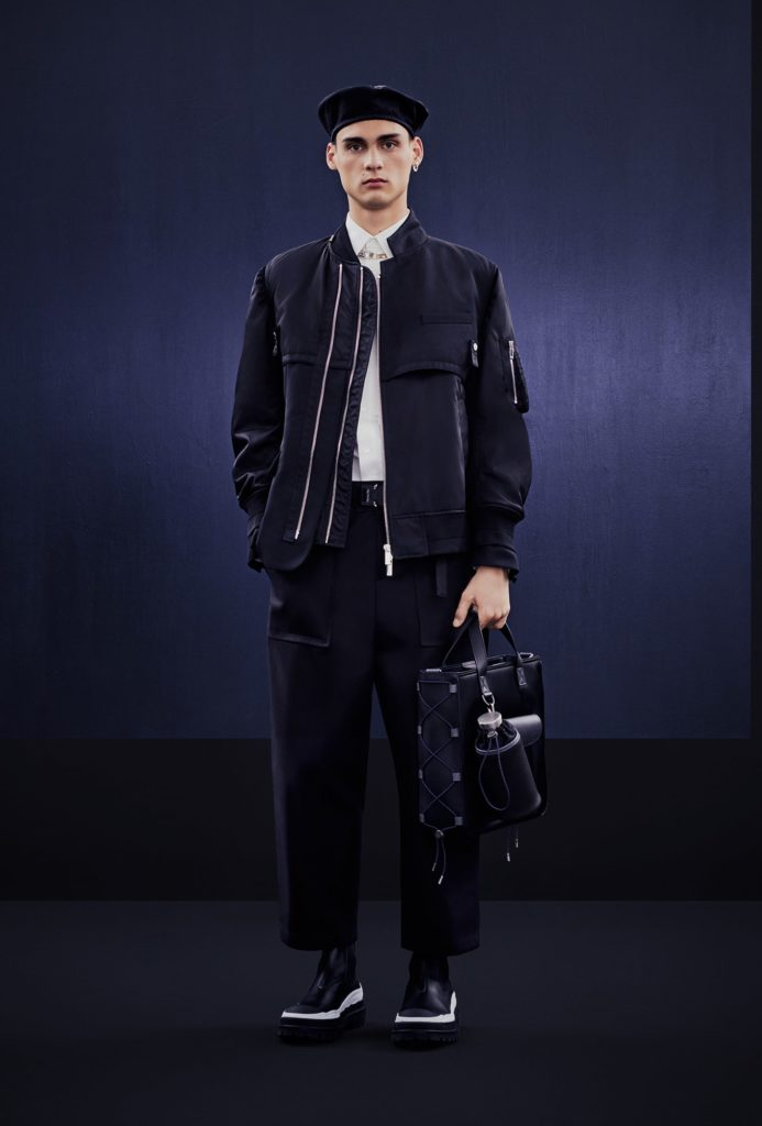 DIOR AND SACAI CAPSULE COLLECTION BY BRETT LLOYD - LOOK 1-min