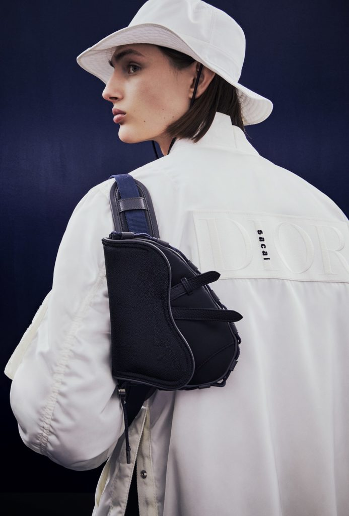 DIOR AND SACAI CAPSULE COLLECTION BY BRETT LLOYD - LOOK 3 DETAIL-min