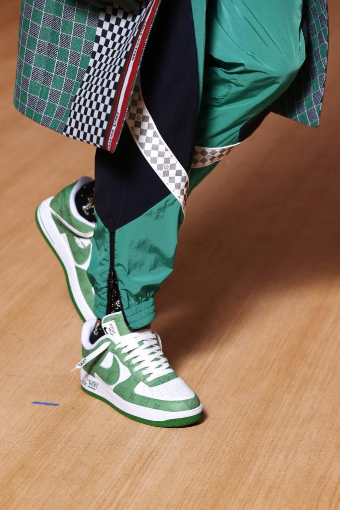 air force 1 sneakers green