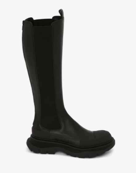 Alexander McQueen 'Tread Slick' knee-high boots