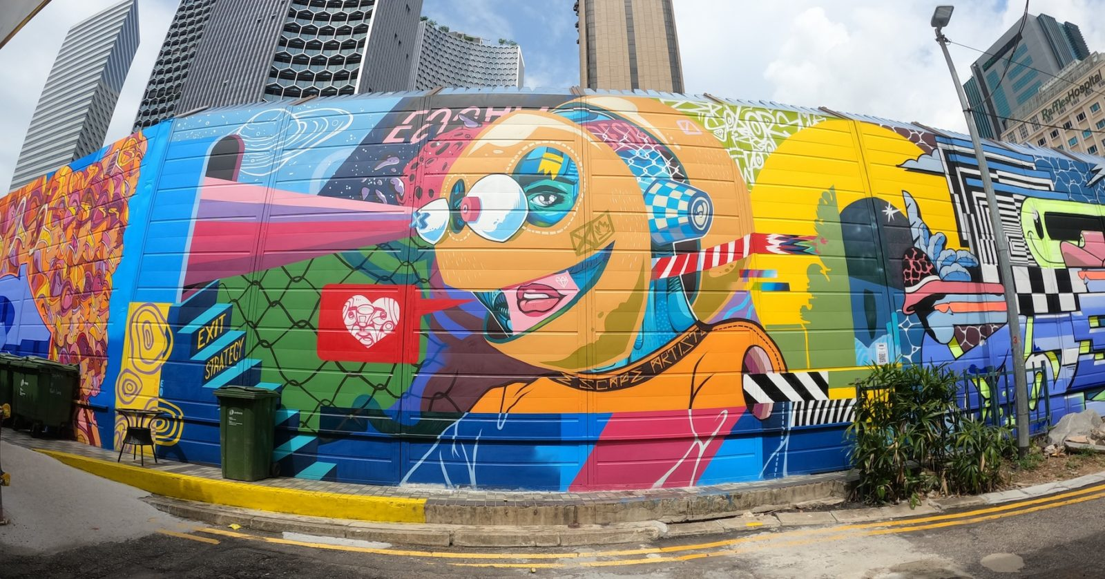 Want to try your hand at graffiti? This street art workshop lets you do just that