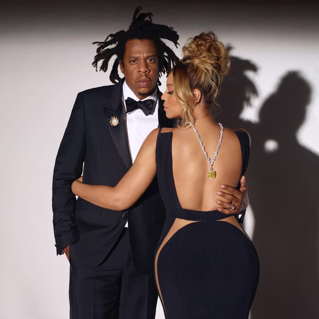 Beyoncé and Jay-Z in their first Tiffany & Co. campaign, About Love