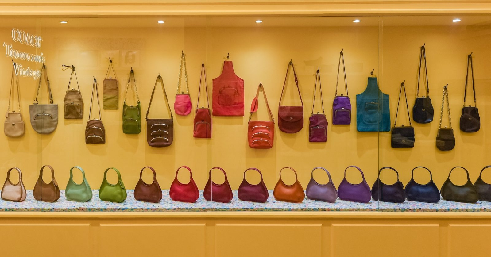 Coach brings vintage bags galore to its first pop-up store in Singapore