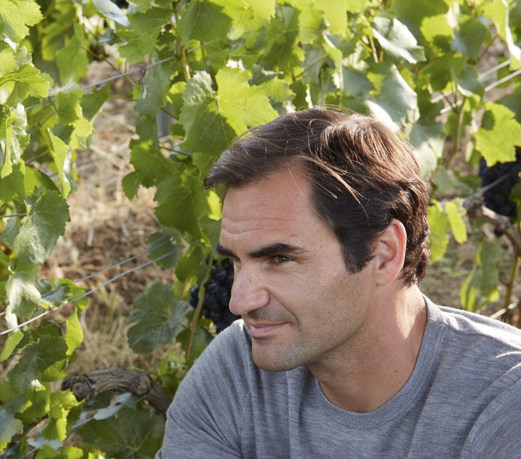 """LSA Exclusive: Roger Federer debuts Moët & Chandon's new video series """"Through the eyes of…"""""""