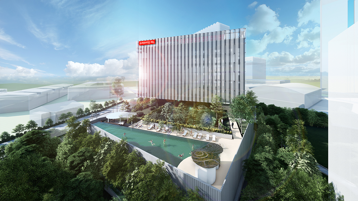 Boutique hotel chain The Standard is set to debut in Singapore