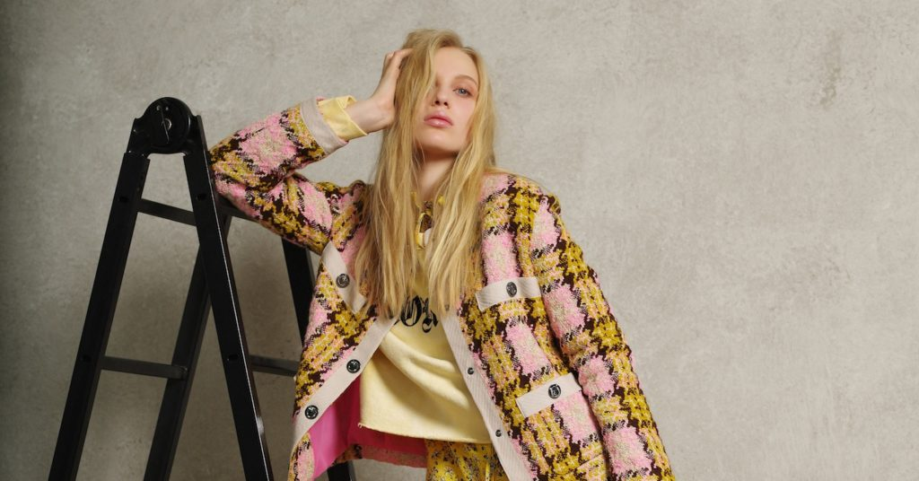 Pinko captures the mix-and-match spirit of Gen Z style in its new collection