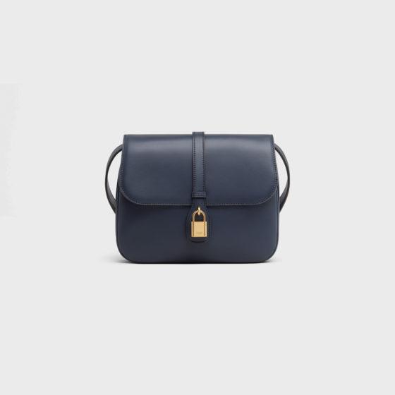 Celine Tabou Bag in Navy Blue