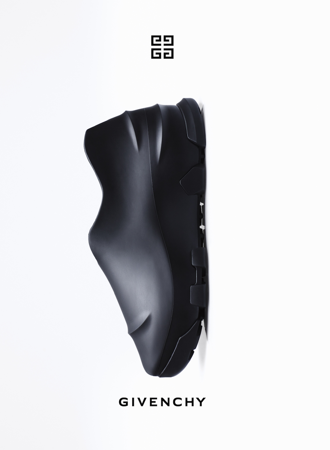 The Monumental Mallow low shoes, as seen in the Givenchy Fall/Winter 2021 campaign. (Photo credit: Givenchy)