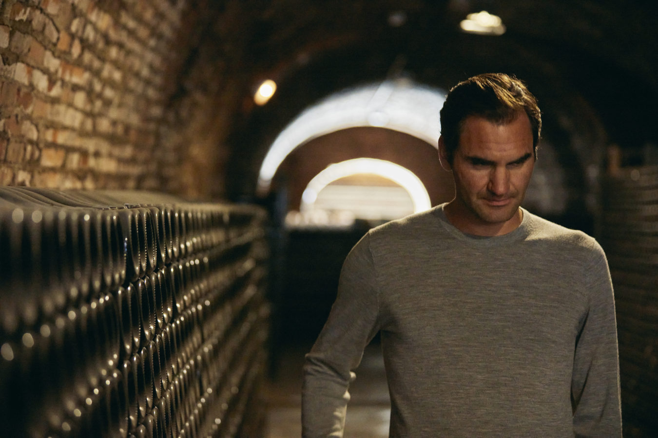 Video: Roger Federer uncovers the mysteries behind the Moët Imperial