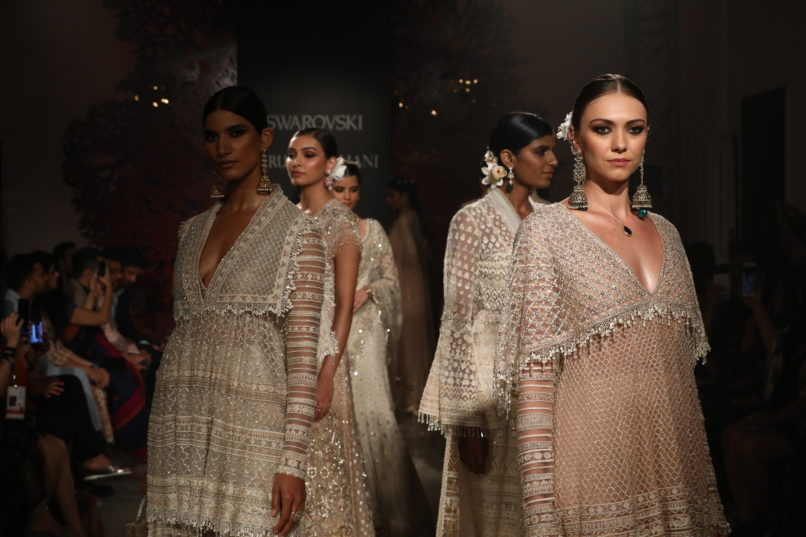 Tahiliani's couture collection 'Bloom'