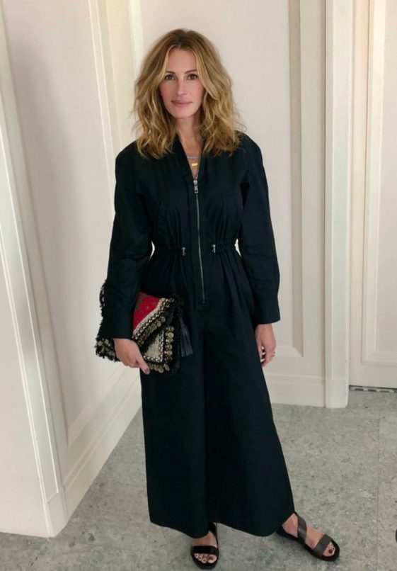 Julia Roberts carrying a Vipul Shah clutch. Image: Courtesy Vipul Shah