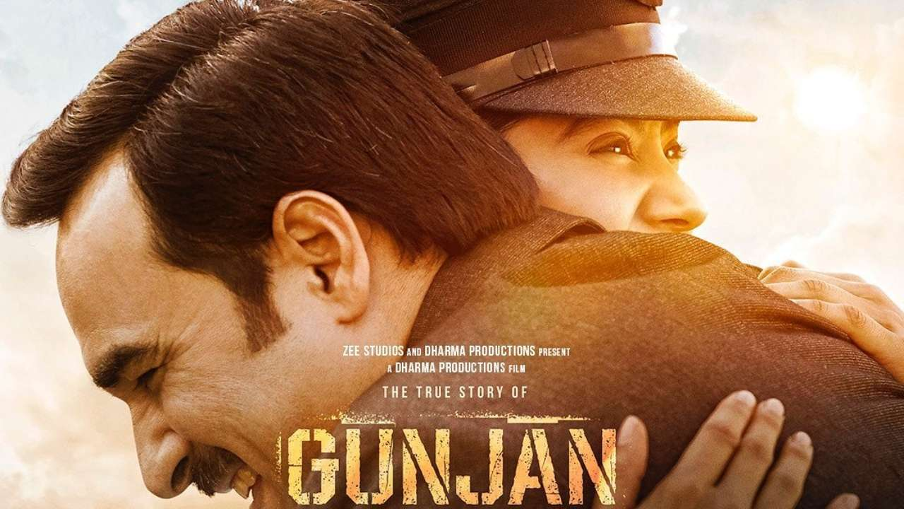 Gunjan Saxena Real Story Netflix Movie Featuring Janhvi Kapoor