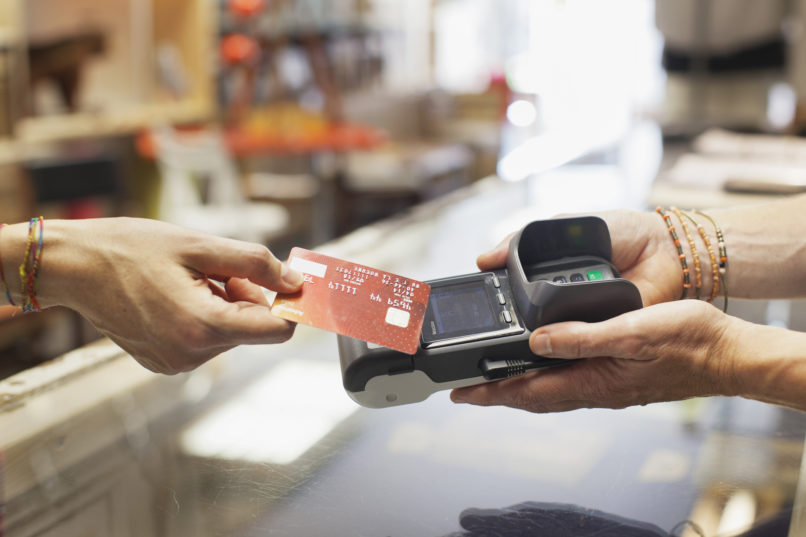 Credit card point of sale