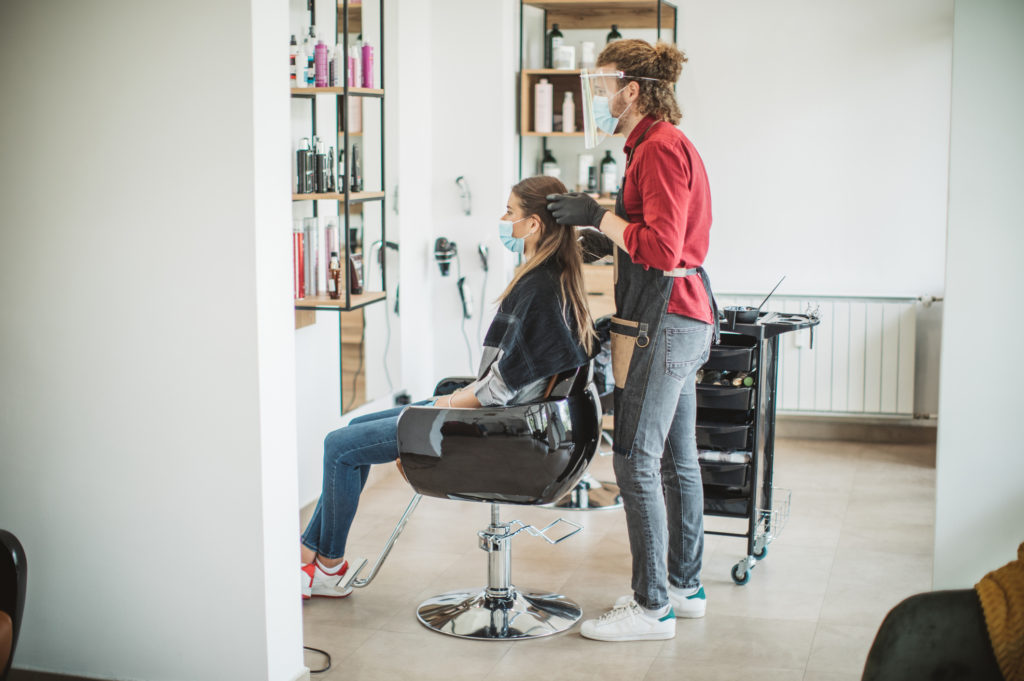Salon safety measures
