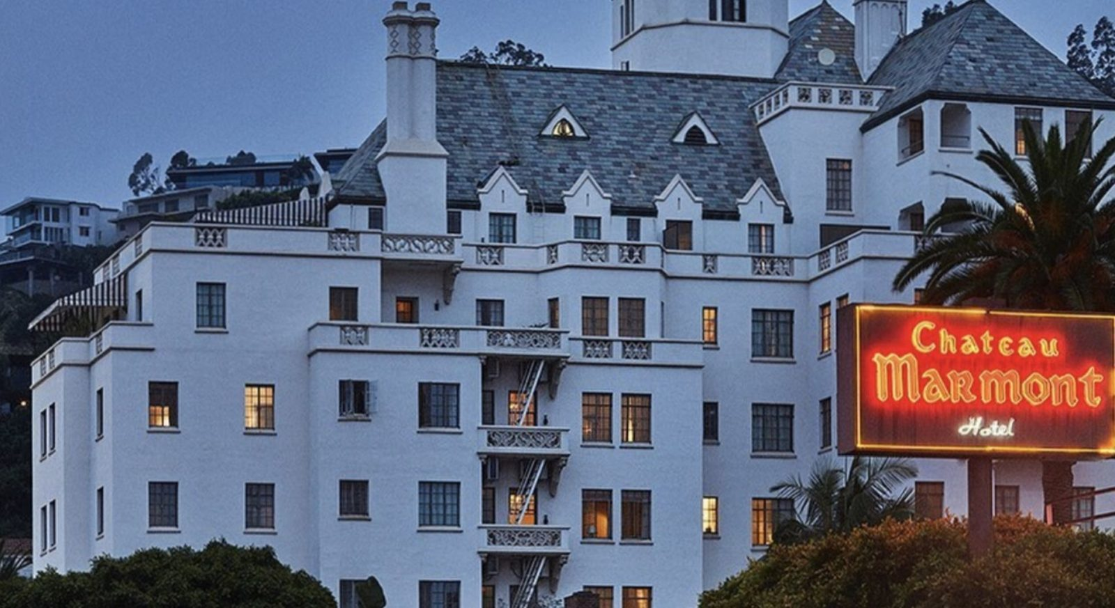 Hollywood's favourite Chateau Marmont is now a members-only hotel