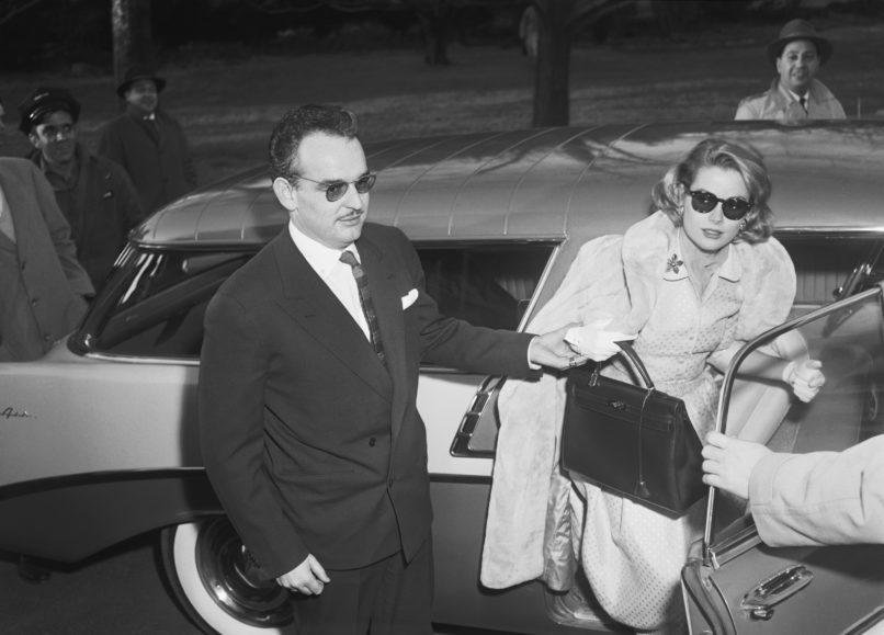 Prince Rainier III of Monaco and Grace Kelly. Image: Courtesy Getty