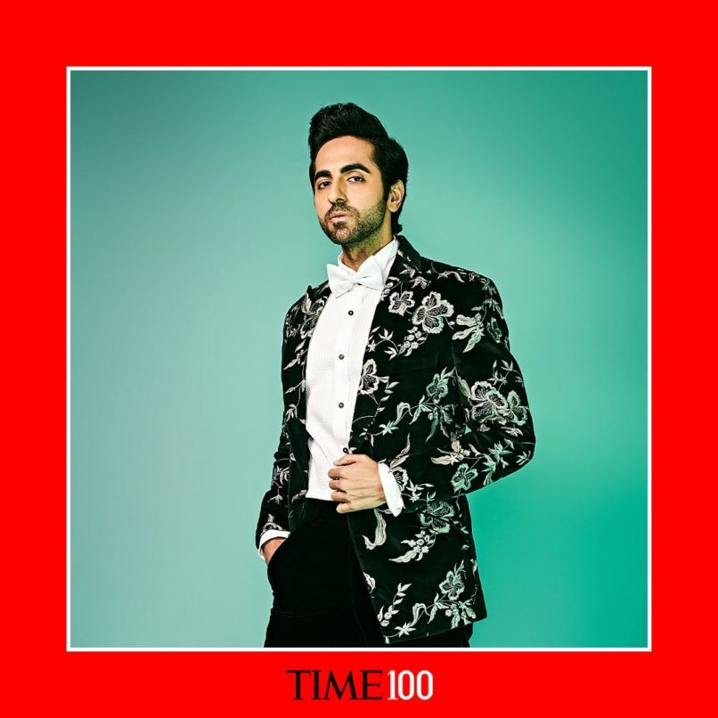 Ayushmann Khurrana on the TIME's 100 most influential 2020