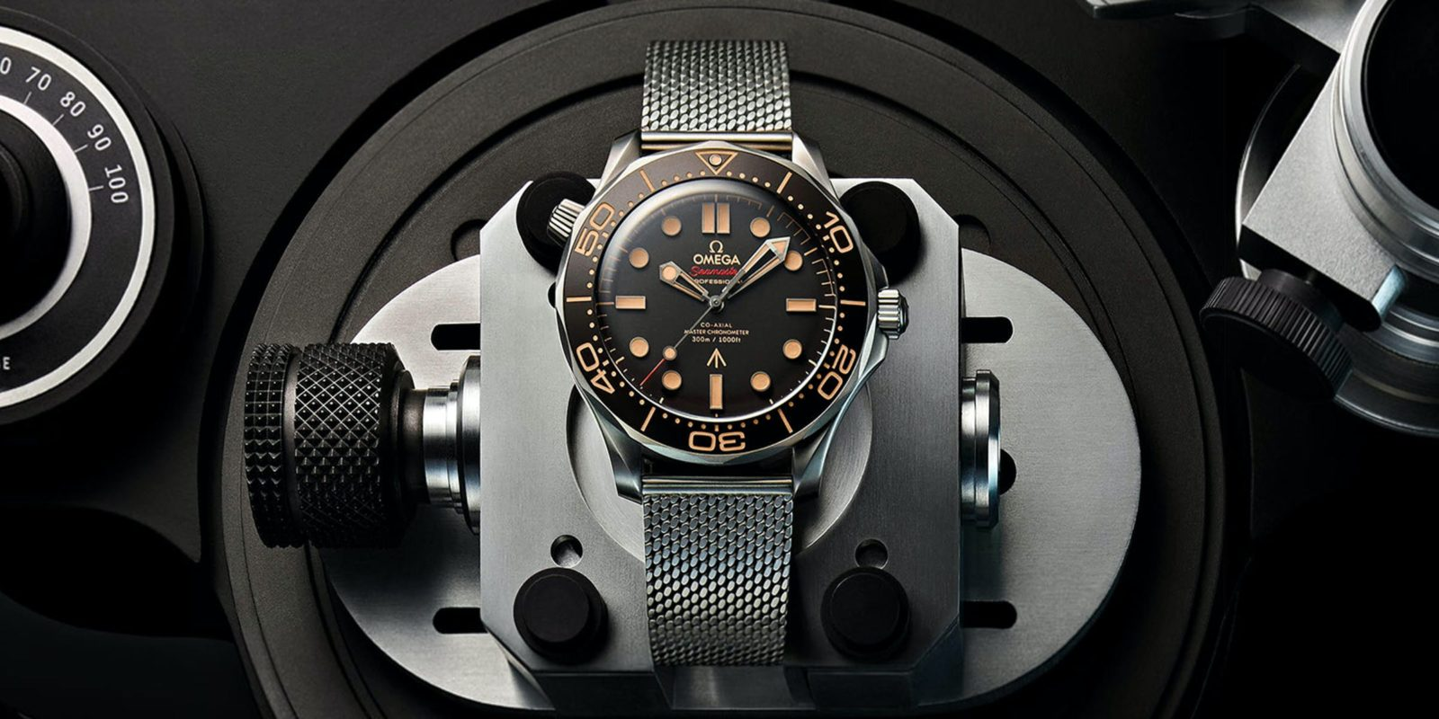 Up-close with Omega's new Seamaster Diver 300M, the new Bond watch