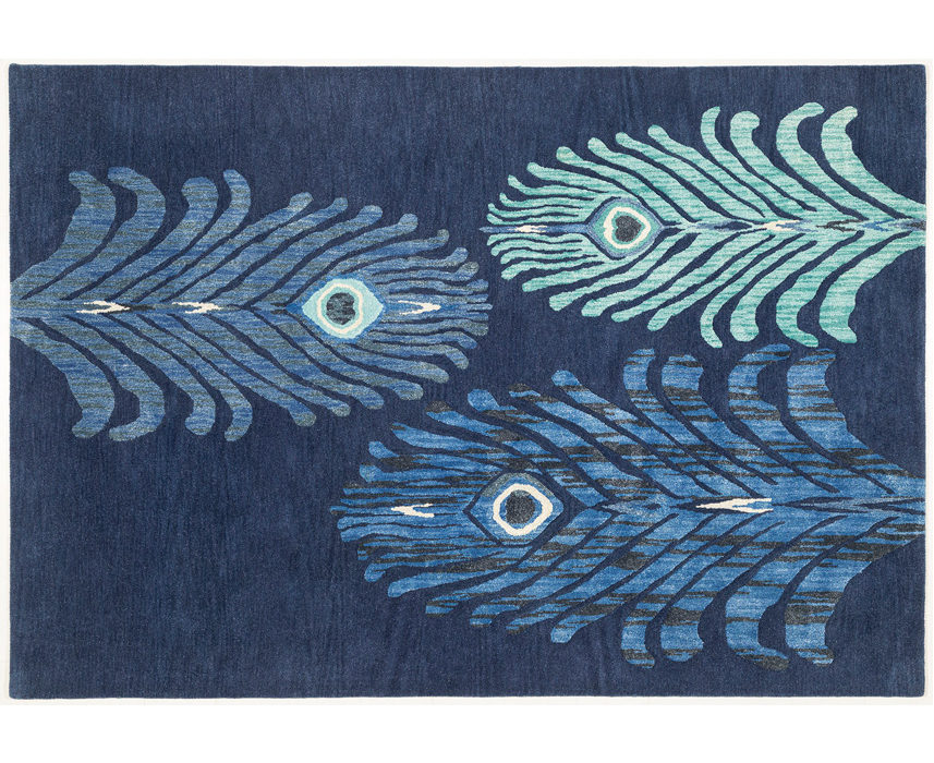 Indian rug maker OBEETEE has collaborated with British designer Matthew Williamson