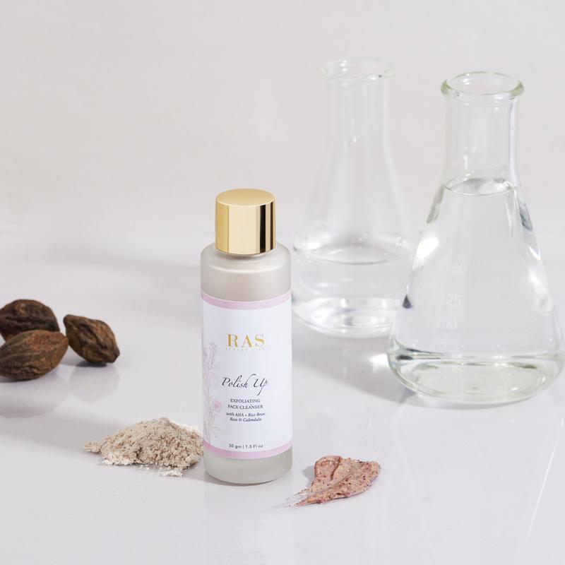 RAS Luxury Oils Polish Up Brightening & Exfoliating Face Cleanser
