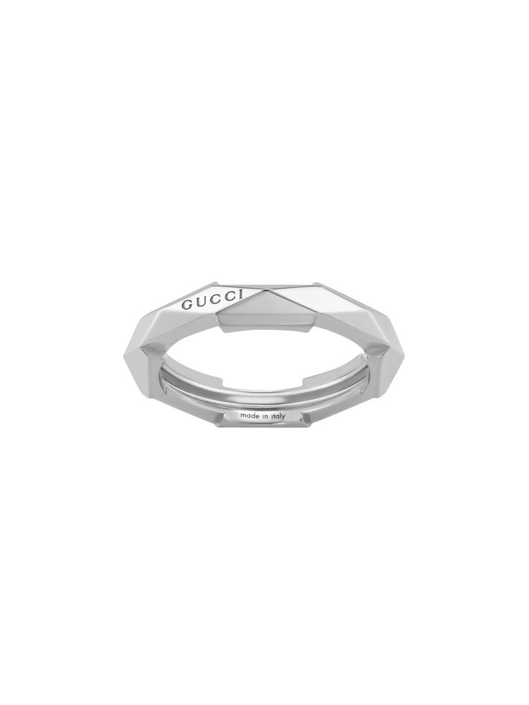 Gucci Link to Love Studded Ring
