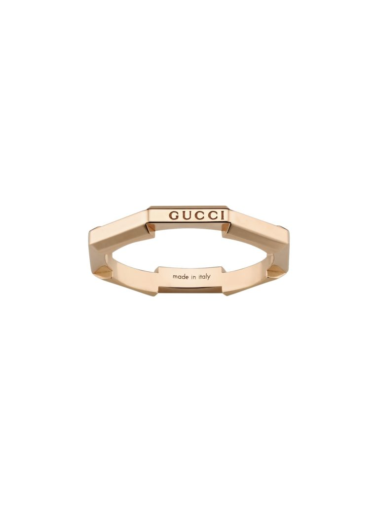 Gucci Link to Love Mirrored Ring