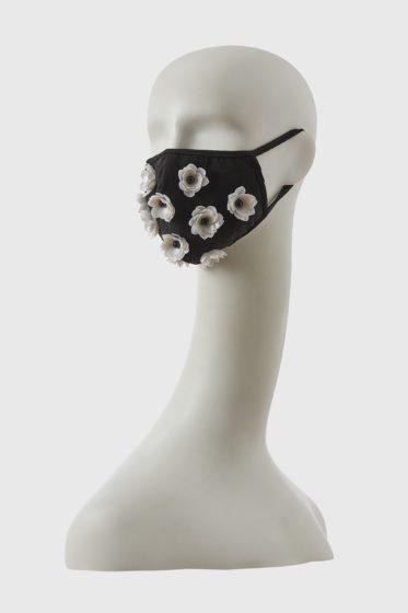 Shivan & Narresh Ivory Floral skein mask
